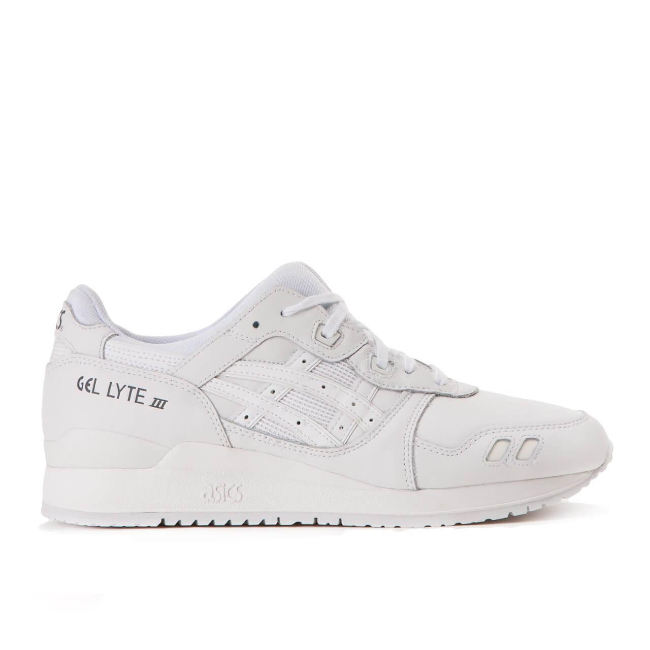 Кроссовки Asics Gel Lyte III Leather All White