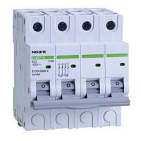 Модульный автоматический выключатель для DC 6 kA для PV применение , характеристика K, 16 A, 1000 V DC, 4DIN