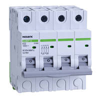 Модульный автоматический выключатель для DC 6 kA для PV применение , характеристика K, 50 A, 1000 V DC, 4DIN