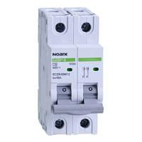 Модульный автоматический выключатель для DC 6 kA, характеристика C, 10 A, 500 V DC, 2 полюсы