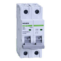 Модульный автоматический выключатель для DC 6 kA, характеристика C, 13 A, 500 V DC, 2 полюсы