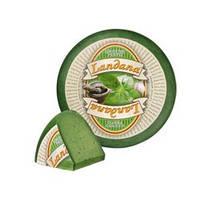 Сыр Landana Зеленый Песто, Голландия (режем от 300 грамм)