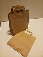 Пакет с плоскими ручками, 260*250*115