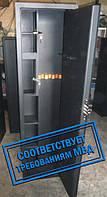 Сейф Оружейный Усиленный СО 1320У/3ТП для хранения Трёх Ружей высотой до 1300 мм с держателем для шомполов