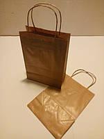 Пакет с крученными ручками, 230*170*90 мм