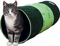 Туннель Trixie Fresh Fruits Playing Tunnel для кошек полиэстеровый, 28х80 см, фото 1