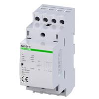 Модульный контактор, 25 A, катушка 24 V, 4 NO