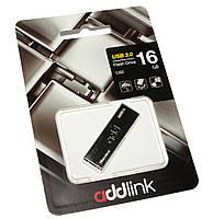 Флешка USB 3.0 16Gb AddLink U50 Metal Silver / AD16GBU50T3