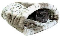 Туннель Trixie Leika Cuddly Bag для кошек меховой, 25х27х45 см, фото 1