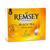 Чай черный 75 пак. Польша Remsey Black Tea klasyczna 150g