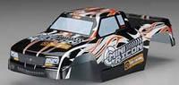 HPI Racing Корпус Mini Recon окрашенный чёрный/оранжевый/белый