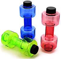 Бутылка для воды MirAks BL-3932 (550 мл/гантель)
