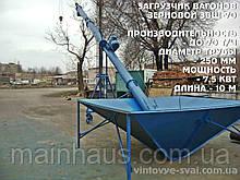Загрузчик вагонов шнековый до 70 т/час