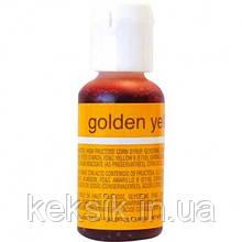 Гелиевая краска Chefmaster Liqua-Gel Golden Yellow