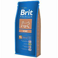 Brit Premium Sport 15 kg / Брит премиум спорт для собак с повышенными физическими нагрузками
