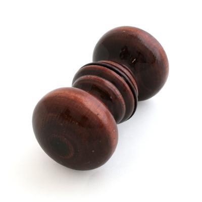 Ручка деревянная темная (пара)