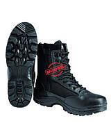 Ботинки тактические с застёжкой-молнией Mil-Tec чёрные , фото 1