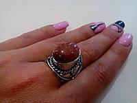 Кольцо с камнем Авантюрин (Золотой песок). Индия!