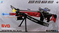 Арбалет-винтовка со стрелами и водными пулями
