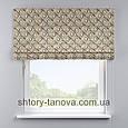 Римская штора с принтом, ромбики 160x170 см, фото 2