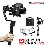 Zhiyun Crane v2 (NEW 2017) Стабилизатор Трехосевой для фотокамеры