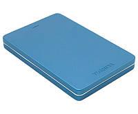 Внешний жесткий диск 1Tb Toshiba Canvio Alu, Blue, 2.5', USB 3.0, алюминевый корпус (HDTH310EL3AA)
