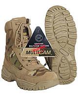 Ботинки тактические с застёжкой-молнией Mil-Tec Multicam, фото 1