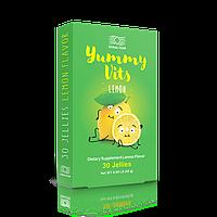 Дитячі вітаміни Яммі Вітс Лимон