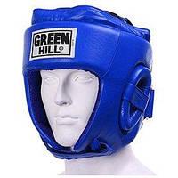 Шлем боксерский Green Hill Five Star (синий)