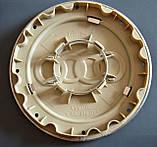 """Колпачки заглушки на литые диски в диски AUDI АУДИ (148/58/16) """"тарелка"""" 4B0 601 165A серые, фото 2"""