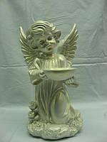 Статуэтка из гипса Ангел с чашей маленький