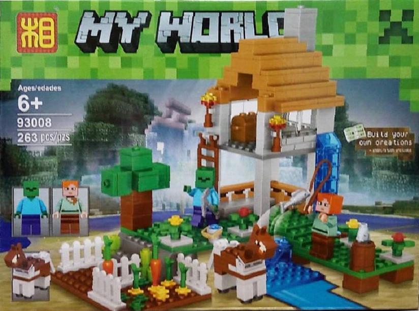 Конструктор Minecraft, Дом ведьмы