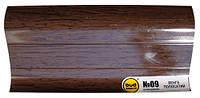 Плинтус 2,5м BudMonster венге полосат (20шт/уп)