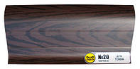 Плинтус мат. 2,5м BudMonster дуб токка (20шт/уп)