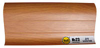 Плинтус мат. 2,5м BudMonster дуб золотой (20шт/уп)