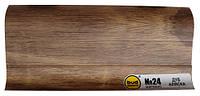 Плинтус мат. 2,5м BudMonster дуб аляска (20шт/уп)