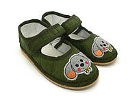 Обувь детская домашняя 101-Д зайчик. Размеры: от 28  до 32.