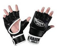 Перчатки для боевого самбо Green Hill MMB-0017r черные - M