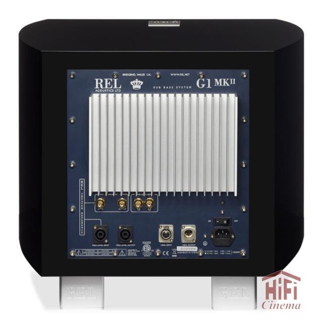 Активный сабвуфер REL Gibraltar G1 Mark II для систем домашнего кинотеатра Hi-Fi/Hi-End классов с выразительным плотным басом