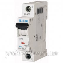 Автомат выключатель Eaton 1 полюс 50А PL4 C