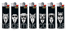 Зажигалка BIC / БИК J3 животные