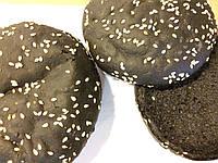 Булочка для гамбургера чорна 70г.