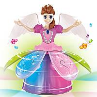 Кукла Принцесса Эльза, танцующая Фея Dance Princess, кукла Принцессас крыльями танцующая, кукла для девочки