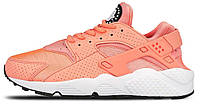 "Женские кроссовки Nike Air Huarache Run ""Atomic Pink"" (найк хуарачи) розовый"