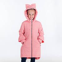 """Демисезонная куртка для девочки """"Бусинка """", 2-7 лет"""