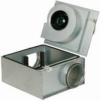 Вентиляторы Systemair KVO шумоизолированный корпус