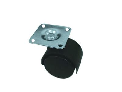3-019 Опора колесная черная 50 мм без фиксатора
