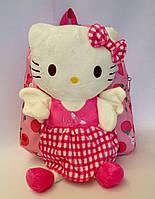 """Рюкзак детский для девочки """"Hello Kitty """"  розового цвета"""
