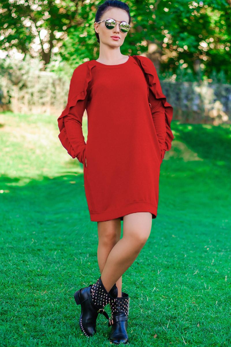"""Червоне плаття """"Ангеліна"""""""