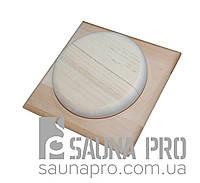 "Заглушка вентиляционная ""Квадрат"" (внутр. 120*120 мм), Saunapro"